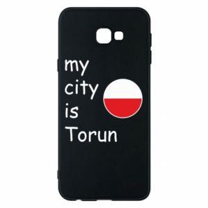 Samsung J4 Plus 2018 Case My city is Torun
