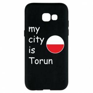 Samsung A5 2017 Case My city is Torun