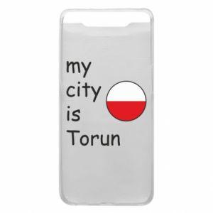 Samsung A80 Case My city is Torun