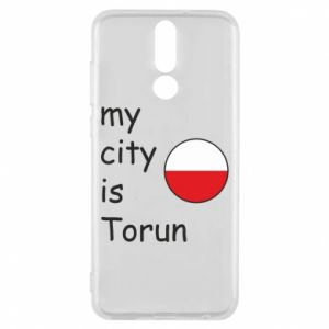 Huawei Mate 10 Lite Case My city is Torun