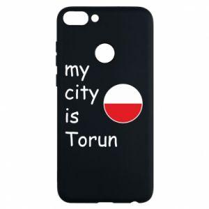 Etui na Huawei P Smart My city is Torun