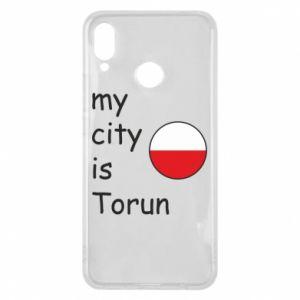 Huawei P Smart Plus Case My city is Torun