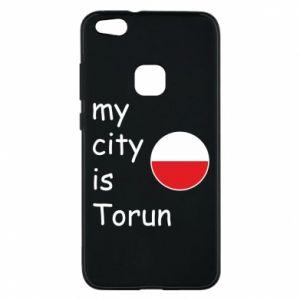 Huawei P10 Lite Case My city is Torun