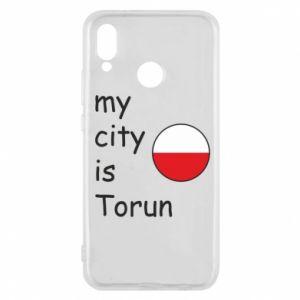 Huawei P20 Lite Case My city is Torun