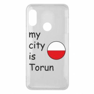 Mi A2 Lite Case My city is Torun