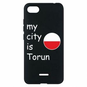 Xiaomi Redmi 6A Case My city is Torun