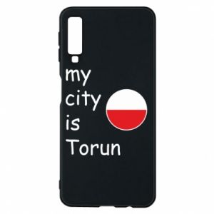 Samsung A7 2018 Case My city is Torun