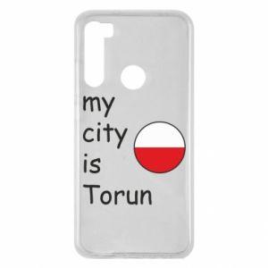 Xiaomi Redmi Note 8 Case My city is Torun