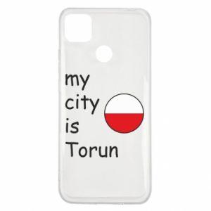 Xiaomi Redmi 9c Case My city is Torun