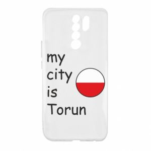 Xiaomi Redmi 9 Case My city is Torun