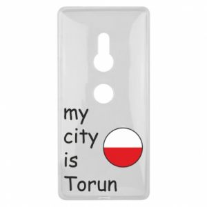 Sony Xperia XZ2 Case My city is Torun