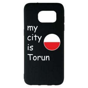 Samsung S7 EDGE Case My city is Torun