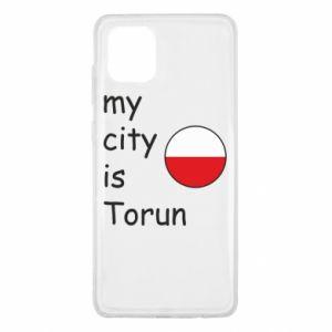 Samsung Note 10 Lite Case My city is Torun
