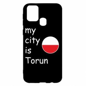 Samsung M31 Case My city is Torun