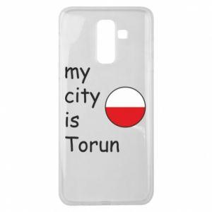 Samsung J8 2018 Case My city is Torun