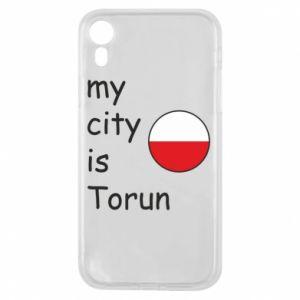 iPhone XR Case My city is Torun
