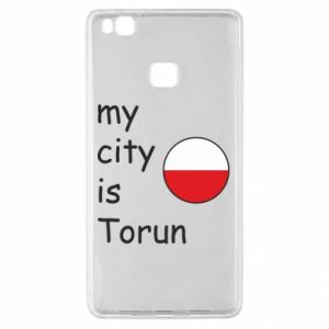 Huawei P9 Lite Case My city is Torun