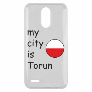 Lg K10 2017 Case My city is Torun