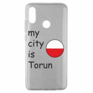 Huawei Honor 10 Lite Case My city is Torun