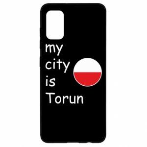 Samsung A41 Case My city is Torun