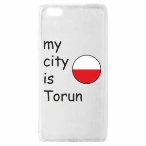 Huawei P8 Lite Case My city is Torun