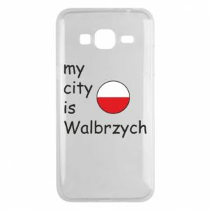 Etui na Samsung J3 2016 My city is Walbrzych