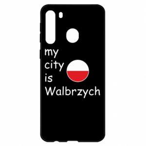 Samsung A21 Case My city is Walbrzych