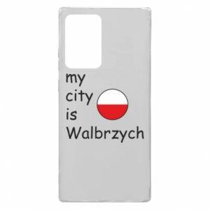 Samsung Note 20 Ultra Case My city is Walbrzych