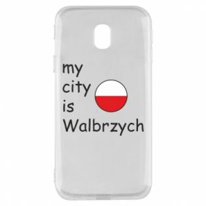 Etui na Samsung J3 2017 My city is Walbrzych