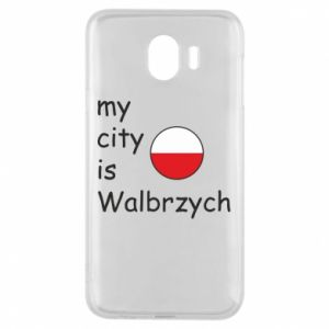 Etui na Samsung J4 My city is Walbrzych