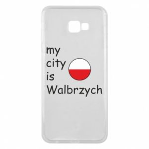 Etui na Samsung J4 Plus 2018 My city is Walbrzych