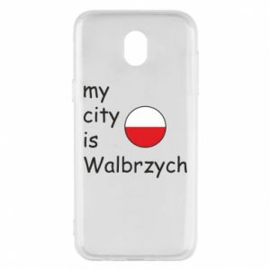 Etui na Samsung J5 2017 My city is Walbrzych