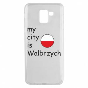 Etui na Samsung J6 My city is Walbrzych