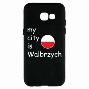Etui na Samsung A5 2017 My city is Walbrzych