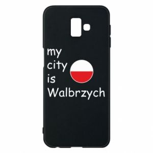 Etui na Samsung J6 Plus 2018 My city is Walbrzych