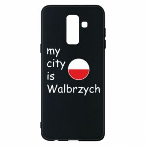 Etui na Samsung A6+ 2018 My city is Walbrzych