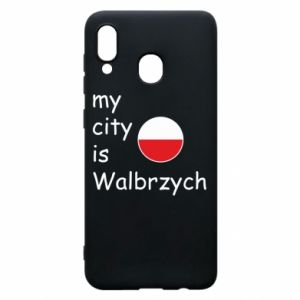 Etui na Samsung A20 My city is Walbrzych