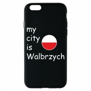 Etui na iPhone 6/6S My city is Walbrzych
