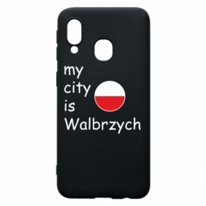 Etui na Samsung A40 My city is Walbrzych