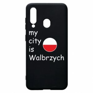 Etui na Samsung A60 My city is Walbrzych