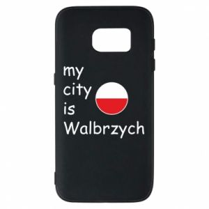 Etui na Samsung S7 My city is Walbrzych