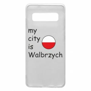 Etui na Samsung S10 My city is Walbrzych