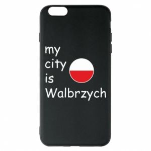 Etui na iPhone 6 Plus/6S Plus My city is Walbrzych