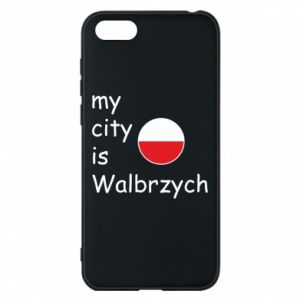 Etui na Huawei Y5 2018 My city is Walbrzych
