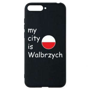 Etui na Huawei Y6 2018 My city is Walbrzych