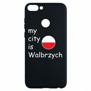 Etui na Huawei P Smart My city is Walbrzych