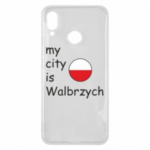 Etui na Huawei P Smart Plus My city is Walbrzych