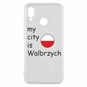Etui na Huawei P20 Lite My city is Walbrzych