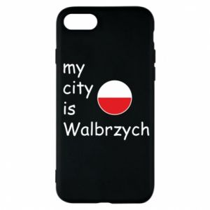 Etui na iPhone 7 My city is Walbrzych