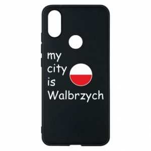 Etui na Xiaomi Mi A2 My city is Walbrzych